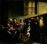 Caravaggio The Calling of Saint Matthew painting