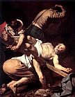 Caravaggio The Crucifixion of Saint Peter painting