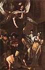 Caravaggio The Seven Acts of Mercy painting
