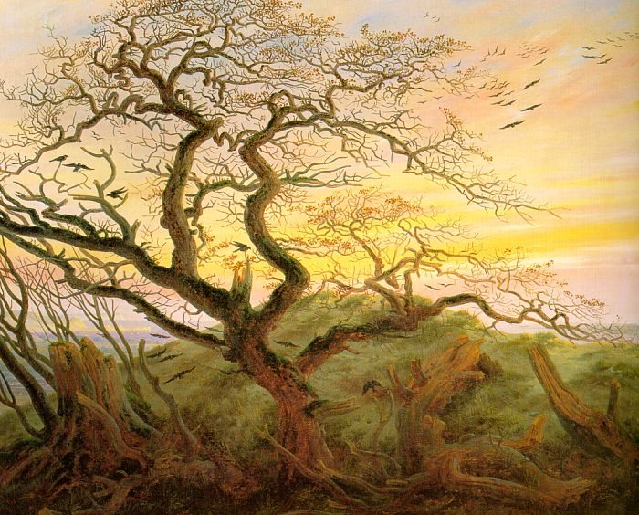 Caspar David Friedrich The Tree of Crows