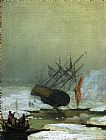 Caspar David Friedrich Wreck in the Sea of Ice painting