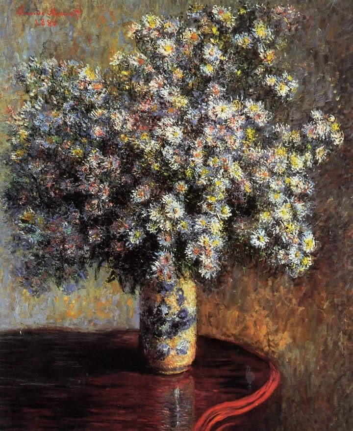 claude monet asters painting best paintings for sale