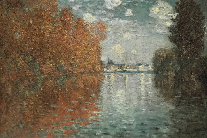 Claude Monet Autumn Effect At Argenteuil