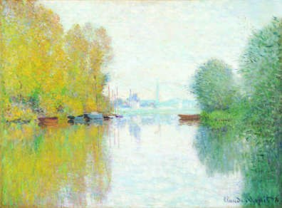 Claude Monet Autumn on the Seine, Argenteuil
