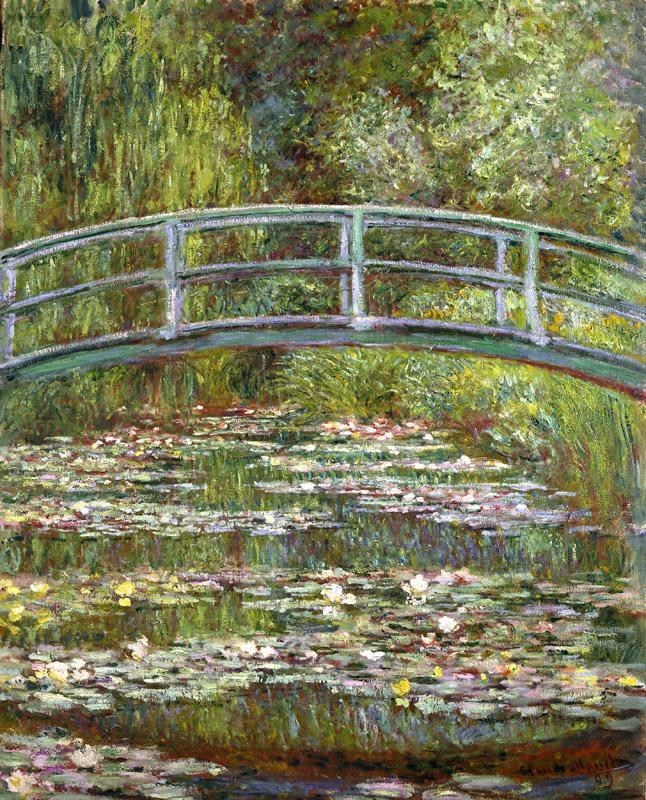 Claude Monet Bridge over a Pool of Water Lilies