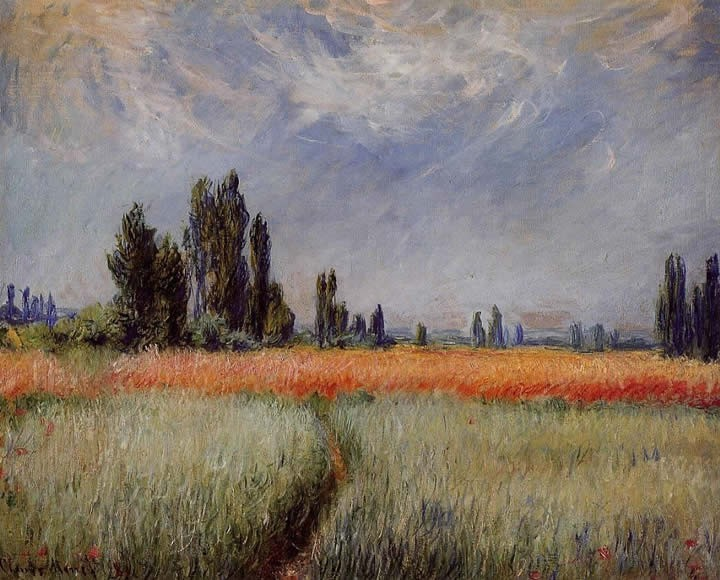 Claude Monet Field of Corn