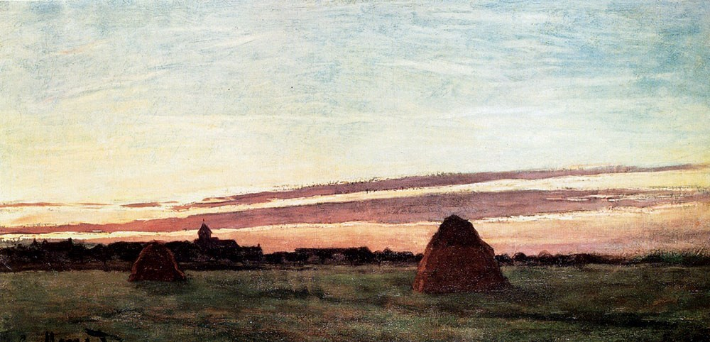 Claude Monet Haystacks At Chailly