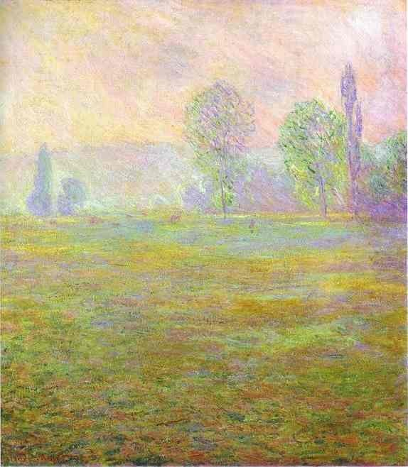 Claude Monet Meadows at Giverny