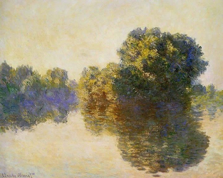 Claude Monet The Seine near Giverny 3