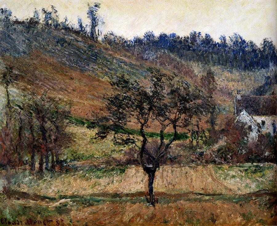Claude Monet The Valley Of Falaise