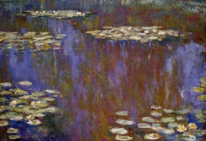 Claude Monet Water-Lilies 28