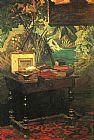 Claude Monet A Corner of the Studio painting