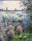Claude Monet A Spot On The Banks Of The Seine painting