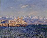 Claude Monet Antibes Afternoon Effect painting