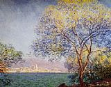 Claude Monet Antibes in the Morning painting