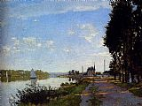 Claude Monet Argenteuil painting