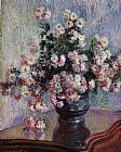 Claude Monet Chrysanthemums 2 painting