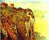 Claude Monet Cliffs near Dieppe 2 painting