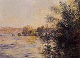 Claude Monet Evening Effect of the Seine painting