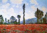 Claude Monet Field of Poppies painting
