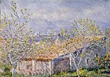 Claude Monet Gardener's House at Antibes painting