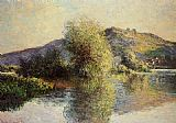 Claude Monet Isleets at Port-Villez painting