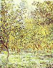 Claude Monet Lemon-Trees Bordighera painting