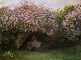 Claude Monet Lilacs Grey Weather painting
