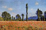 Claude Monet Poppy Field Giverny 2 painting