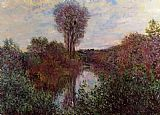Claude Monet Small Arm of the Seine at Mosseaux painting