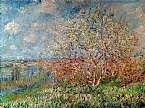 Claude Monet Spring 1880 painting