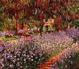 Claude Monet The Garden painting