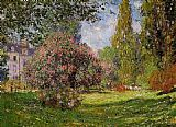Claude Monet The Parc Monceau Paris 1 painting