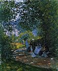 Claude Monet The Parc Monceau Paris 3 painting