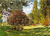 Claude Monet The Park at Monceau painting