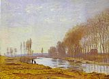 Claude Monet The Petite Bras of the Seine at Argenteuil painting