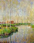 Claude Monet The River Epte painting