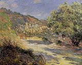 Claude Monet The Road to Monte Carlo painting