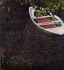 Claude Monet The Row Boat painting