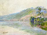 Claude Monet The Seine at Port-Villes Clear Weather painting