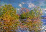 Claude Monet The Seine near Giverny 2 painting