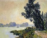 Claude Monet The Towpath at Granval painting