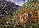 Claude Monet The Valley of Sasso Bordighera 2 painting