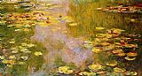 Claude Monet The Water-Lily Pond 3 painting