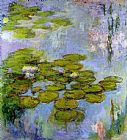 Claude Monet Water Lilies 13 painting