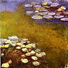 Claude Monet Water-Lilies 1917 painting
