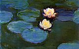 Claude Monet Water-Lilies painting