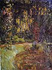 Claude Monet Water-Lily Pond at Giverny painting