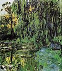 Claude Monet Weeping Willow and Water-Lily Pond 2 painting