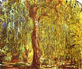 Claude Monet Weeping Willow painting